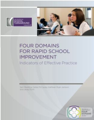 Four Domains for Rapid School Improvement cover
