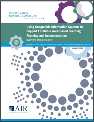 Using Geographic Info Systems cover page with cogs logo