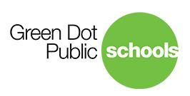 Green Dot Public Schools with green circle logo