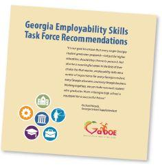 Georgia Employability Skills sidebar with small icons