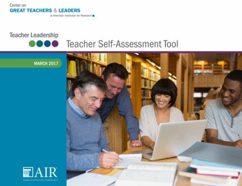 Teacher Leadership: Teacher Self-Assessment Tool