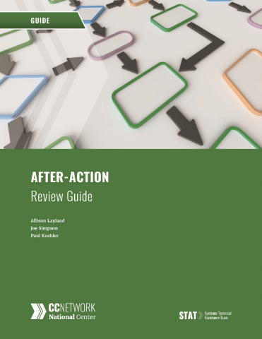 After Action Review Guide cover
